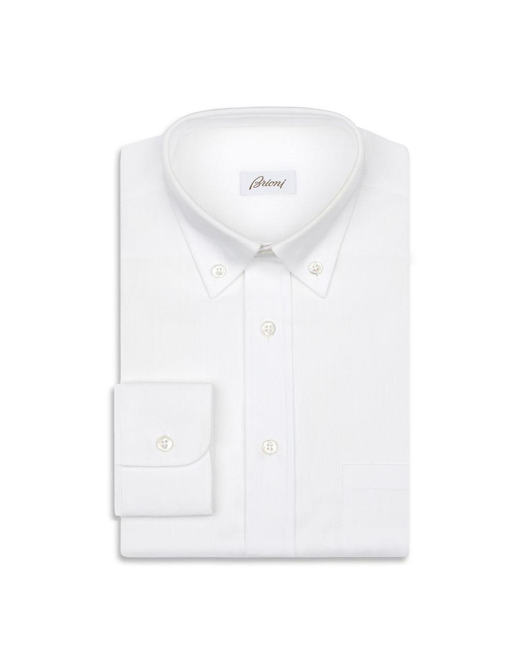 BRIONI 白色衬衫 休闲衬衫 男士 f