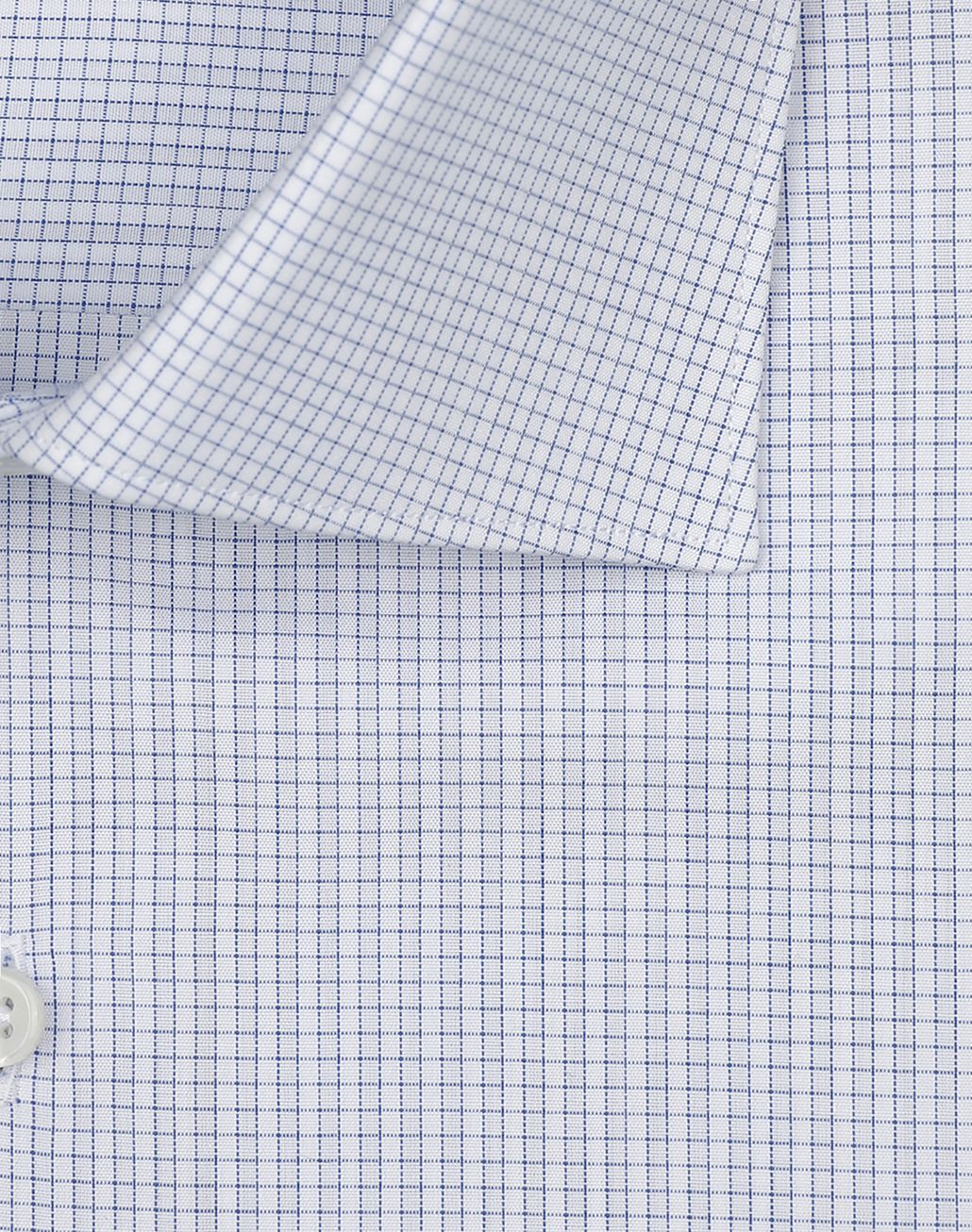 BRIONI White and Light Blue Micro Checked Shirt  Formal shirt Man e