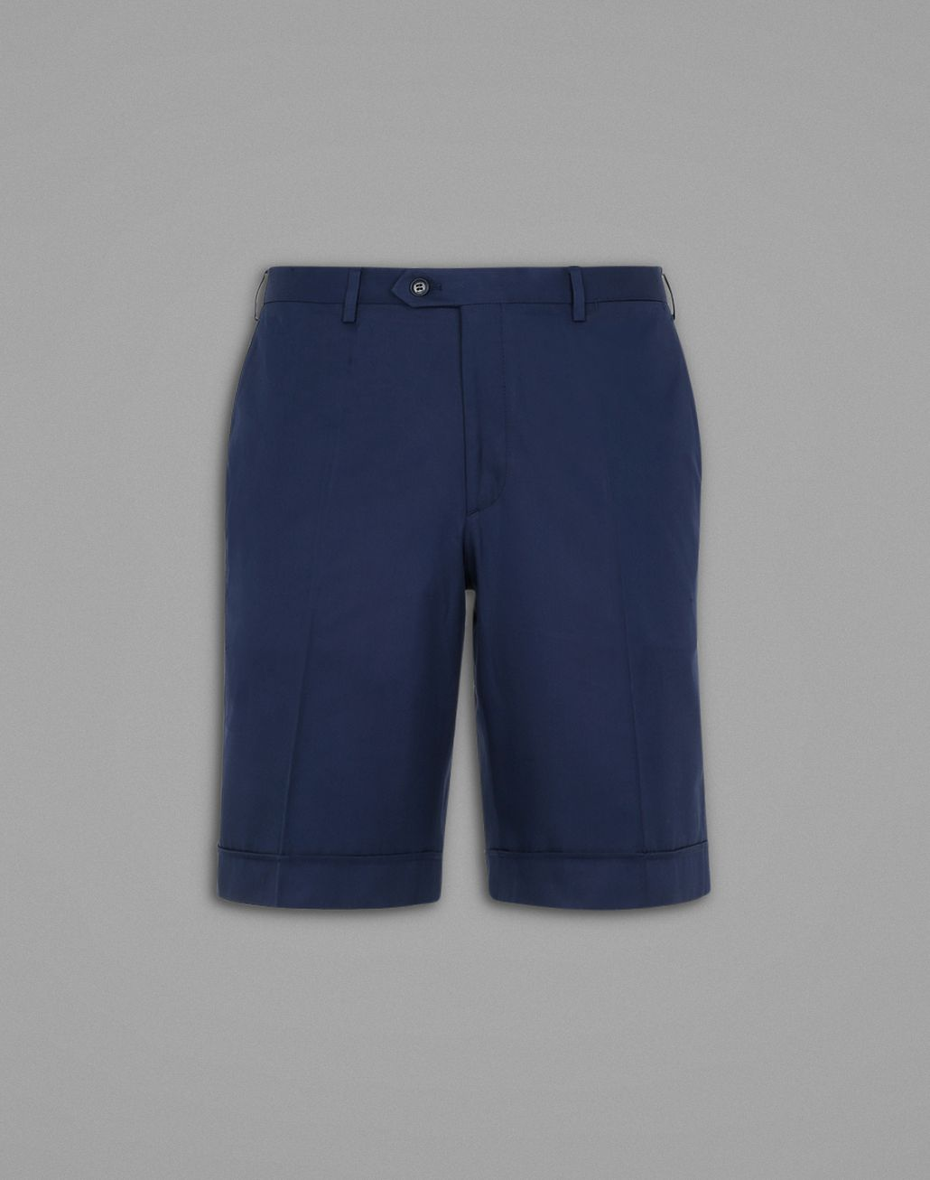BRIONI Navy Blue Shorts Trousers Man f