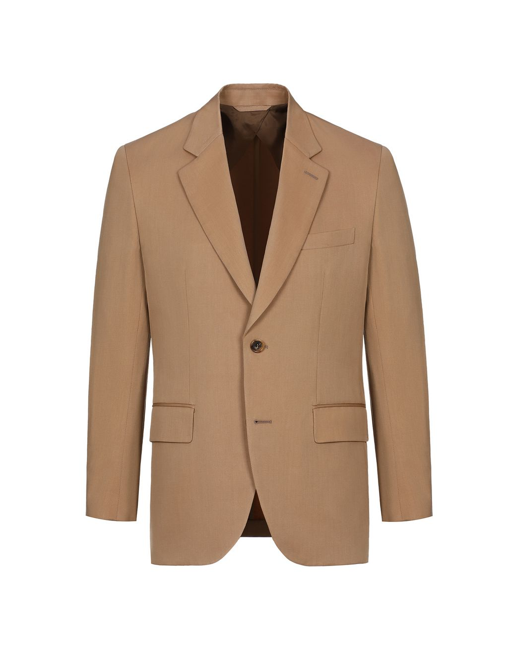 BRIONI Beige Decostructed Jacket Jackets Man f