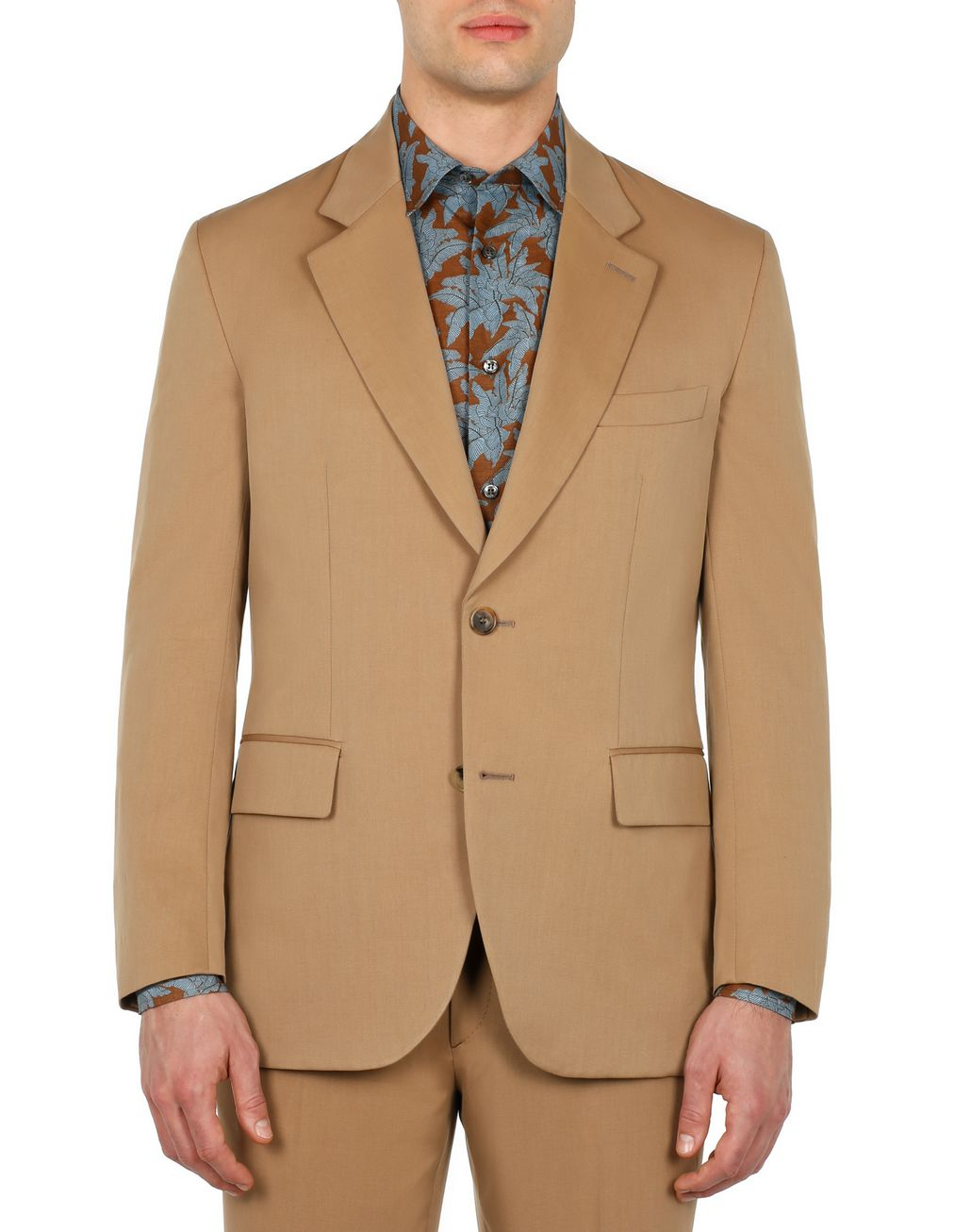 BRIONI Beige Decostructed Jacket Jackets Man r