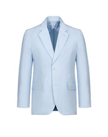 Light Blue Decostructed Jacket