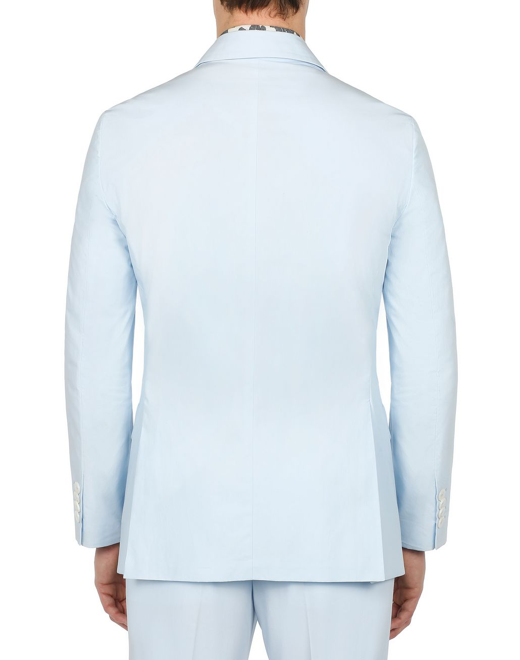 BRIONI Light Blue Decostructed Jacket Jackets Man d