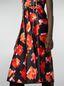 Marni Strap dress in viscose Magnete print Woman - 5