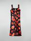 Marni Strap dress in viscose Magnete print Woman - 2
