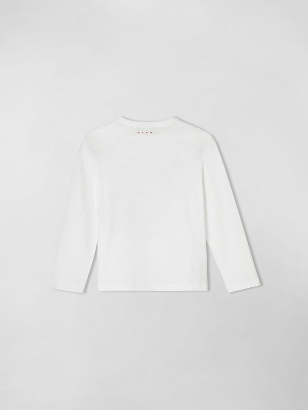 Marni JERSEY T-SHIRT WITH JOE PRINT  Woman - 2
