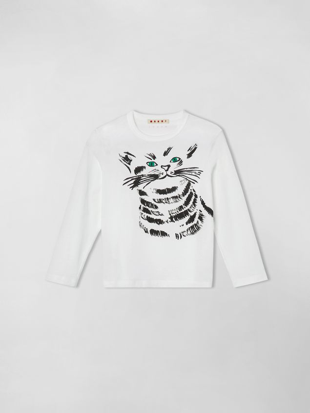 Marni JERSEY T-SHIRT WITH JOE PRINT  Woman - 1