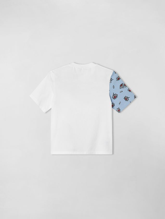 Marni T-SHIRT IN JERSY WITH PETALS PRINT  Woman - 2