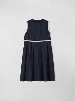 Marni SLEEVELESS COOL WOOL DRESS Woman