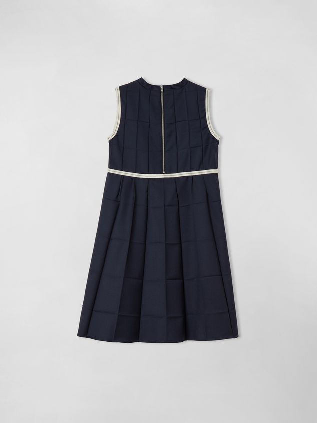 Marni SLEEVELESS LIGHTWEIGHT WOOL DRESS  Woman