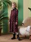 Marni VISCOSE CREPE DRESS WITH PETALS PRINT Woman - 2