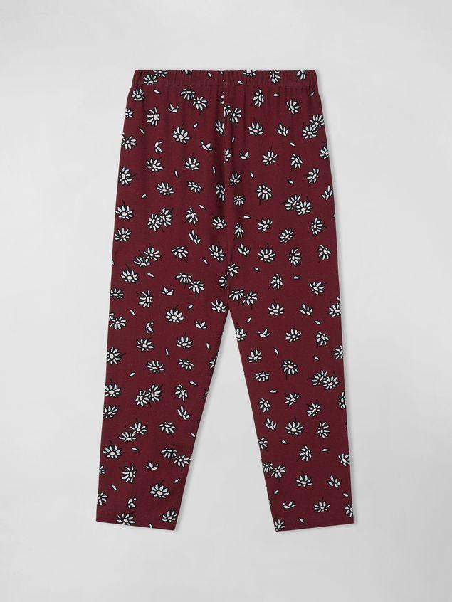 Marni VISCOSE CREPE PANTS WITH PETALS PRINT  Woman - 2