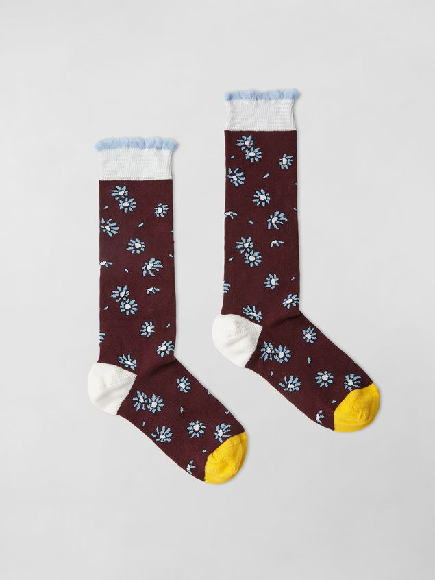 Marni SOCKS IN COTTON Woman - 1