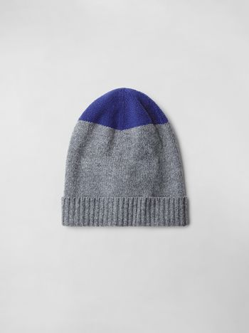 Marni COLOR-BLOCK WOOL HAT Woman f