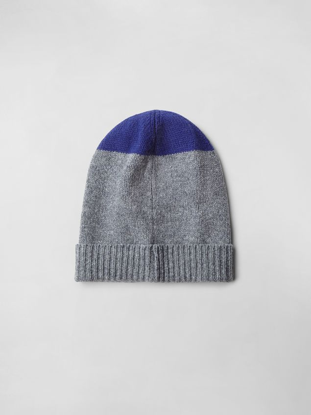 Marni COLOR-BLOCK WOOL HAT Woman - 2