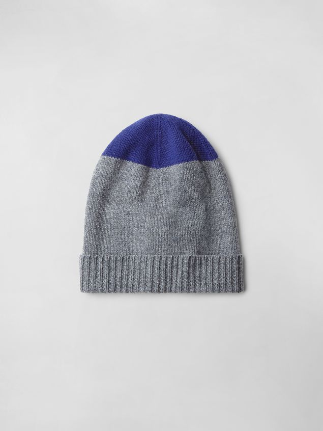 Marni COLOR-BLOCK WOOL HAT Woman - 1