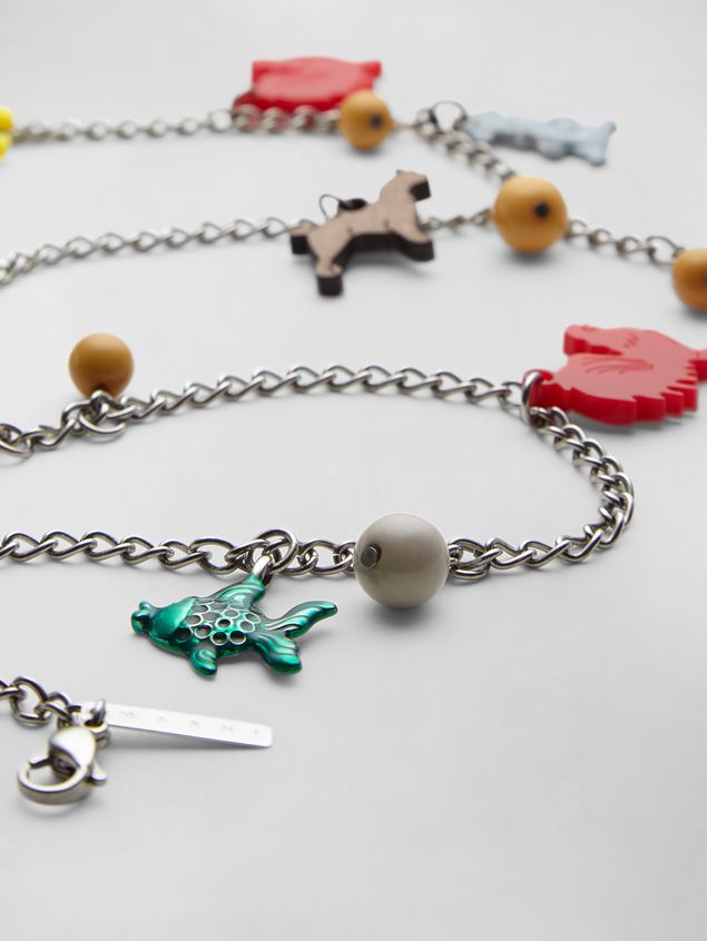 Marni NECKLACE WITH CRACKER JACKS CHARM Woman - 3