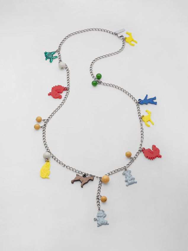 Marni NECKLACE WITH CRACKER JACKS CHARM Woman - 1