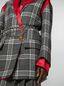Marni Masculine jacket in chequered motif, yarn-dyed wool Woman - 5