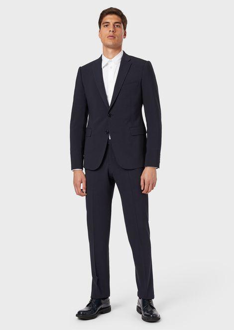 6fe11bae6ad631 Men's Suits | Emporio Armani
