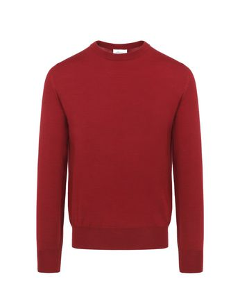 Red Crewneck Sweater.