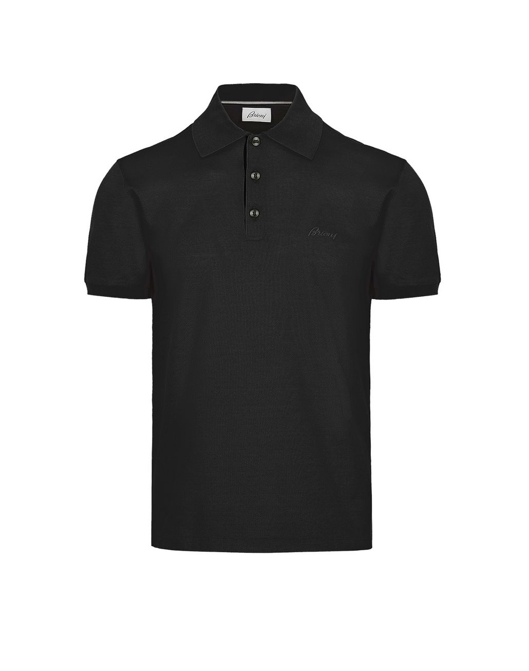 BRIONI Polo Noir T-shirts & polos Homme f