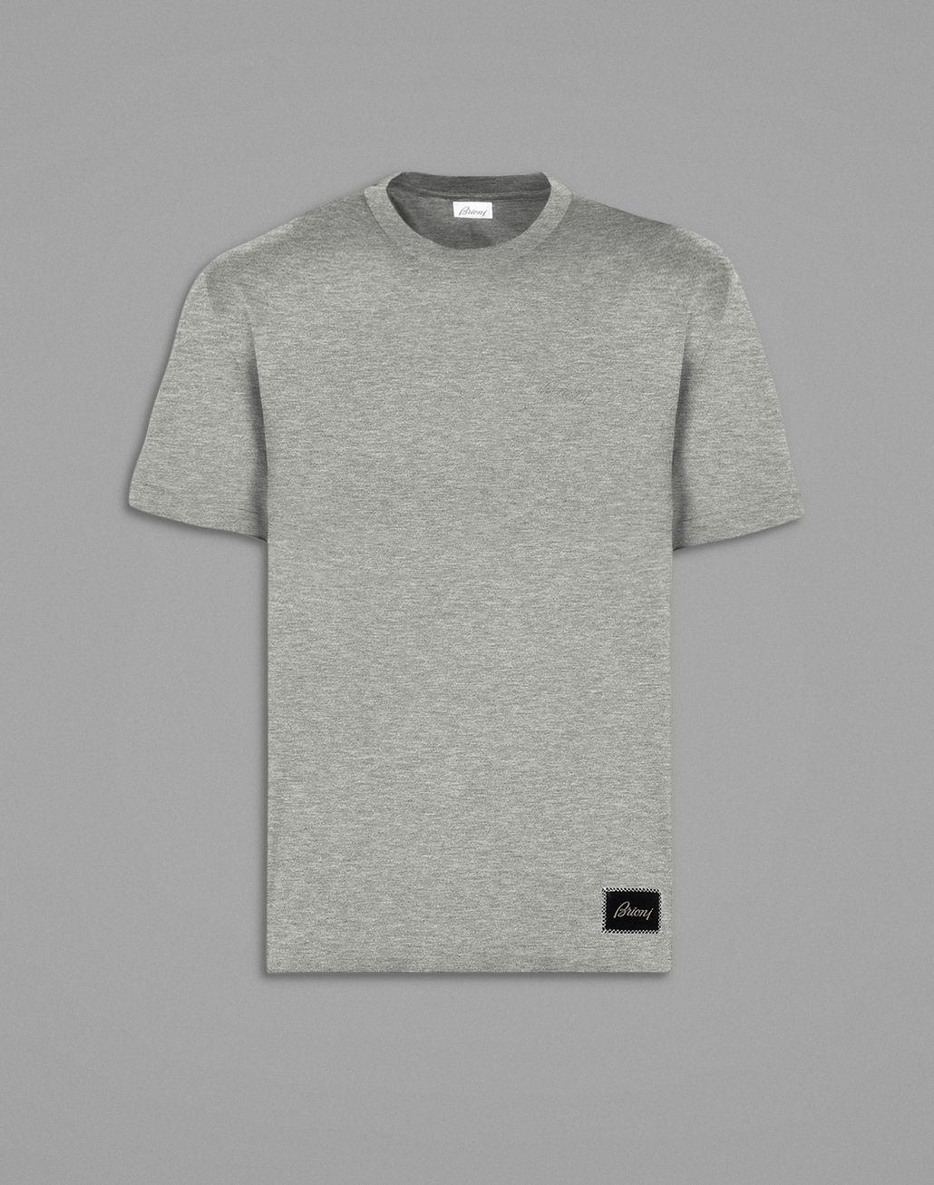 BRIONI Gray T-Shirt T-Shirts & Polos Man f