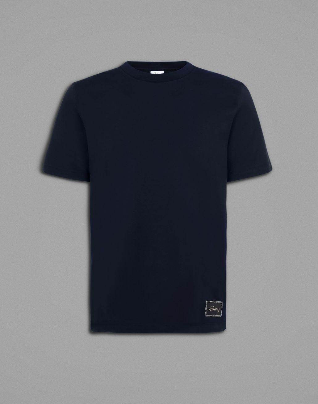 BRIONI Blue T-Shirt T-Shirts & Polos Man f