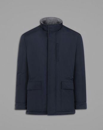 Field-Jacket in Blau