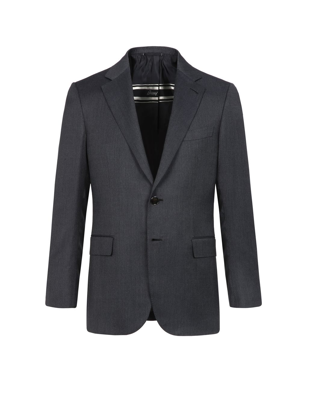 BRIONI Gray Condotti Jacket Jackets Man f