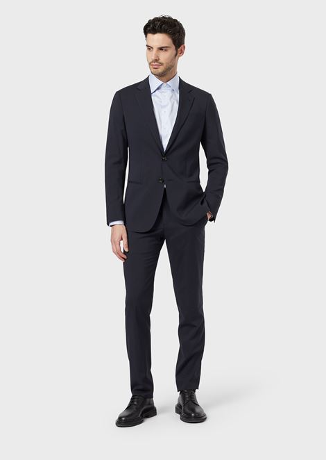 Slim fit Soho line half-canvas suit
