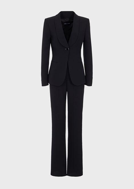 Pure silk tuxedo