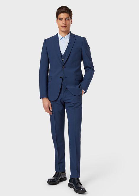 2b143ed1f59 Men's Suits | Emporio Armani