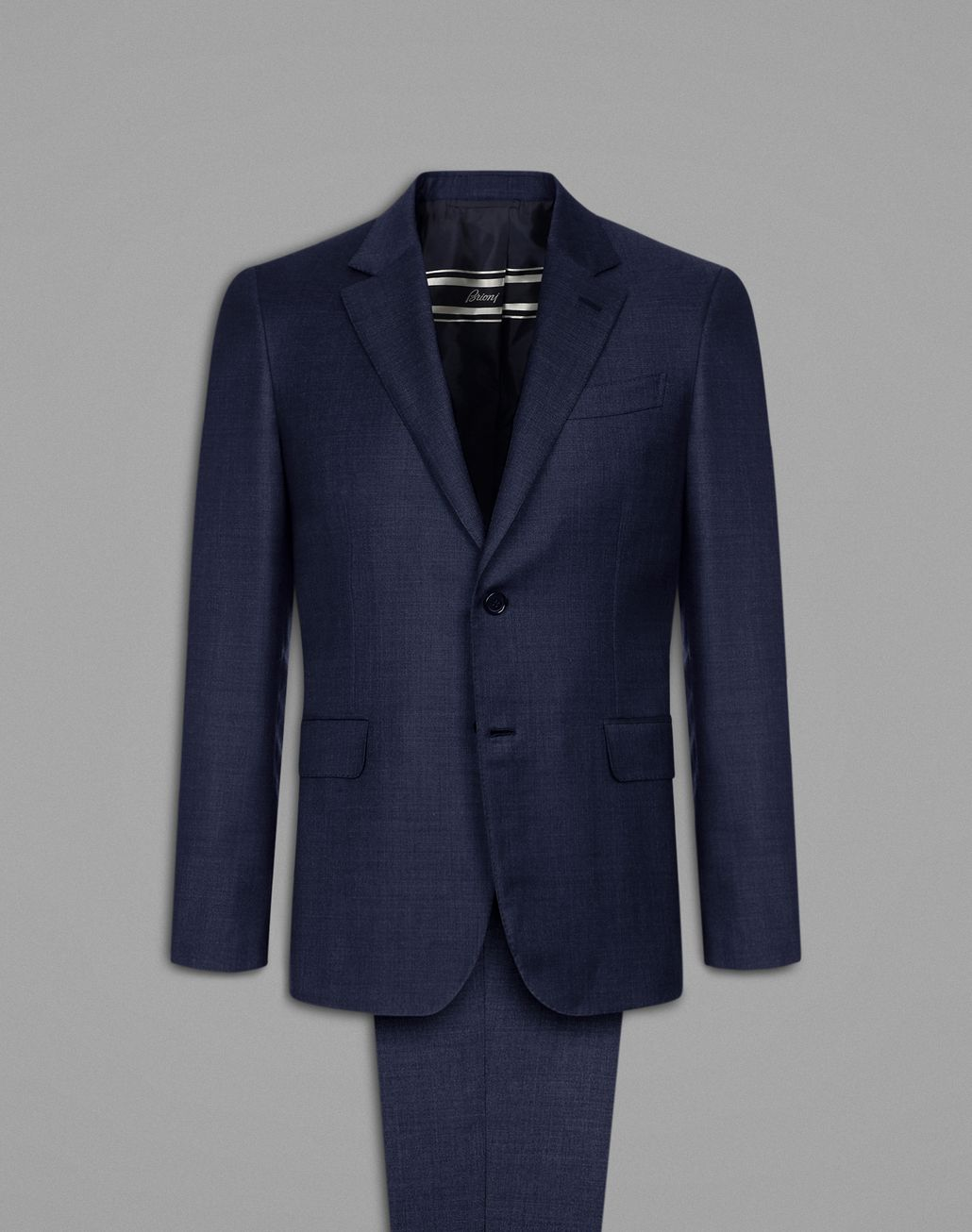 BRIONI Navy Blue Primo Suit Suits & Jackets Man f