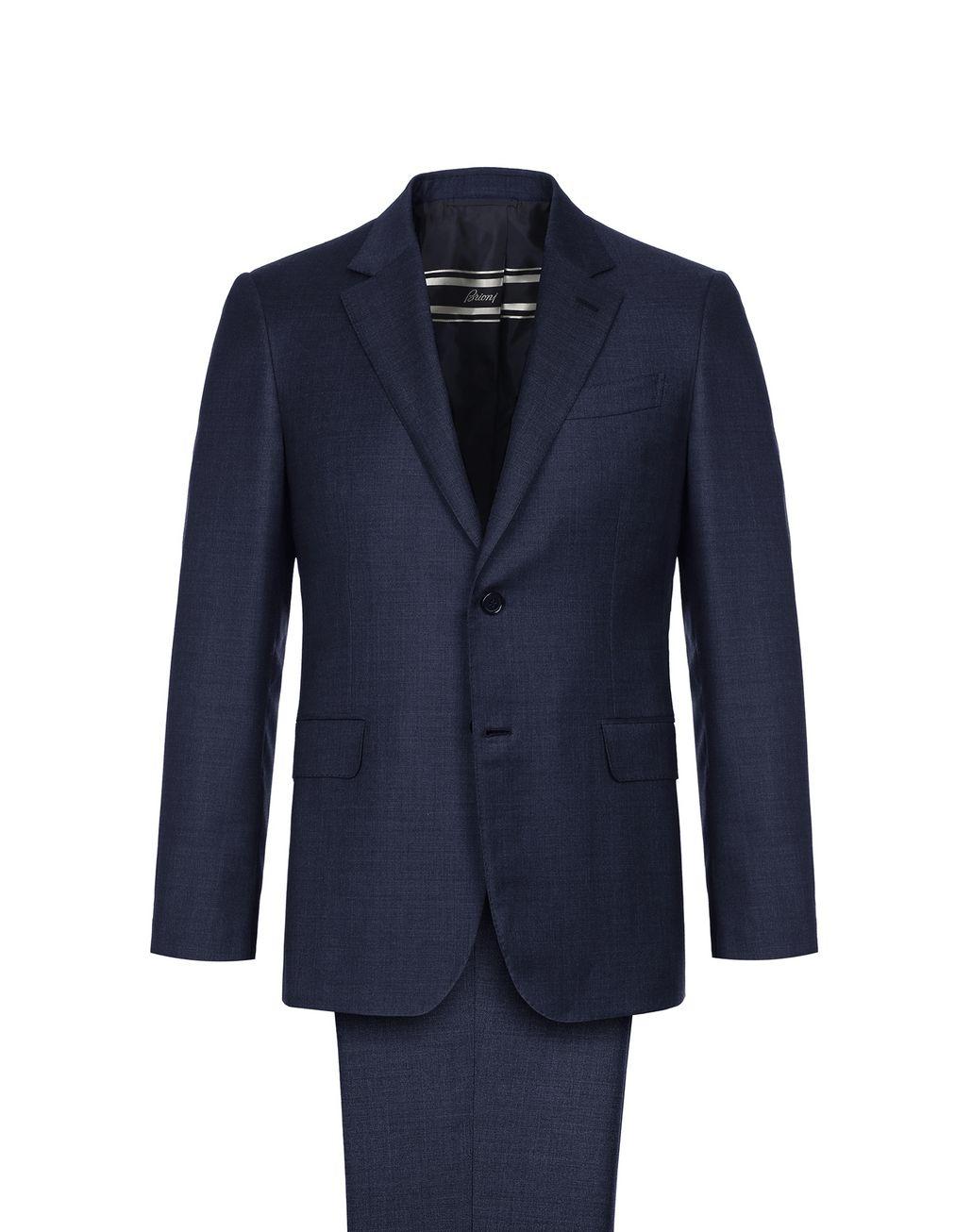 BRIONI Navy Blue Primo Suit Suits & Jackets Man f