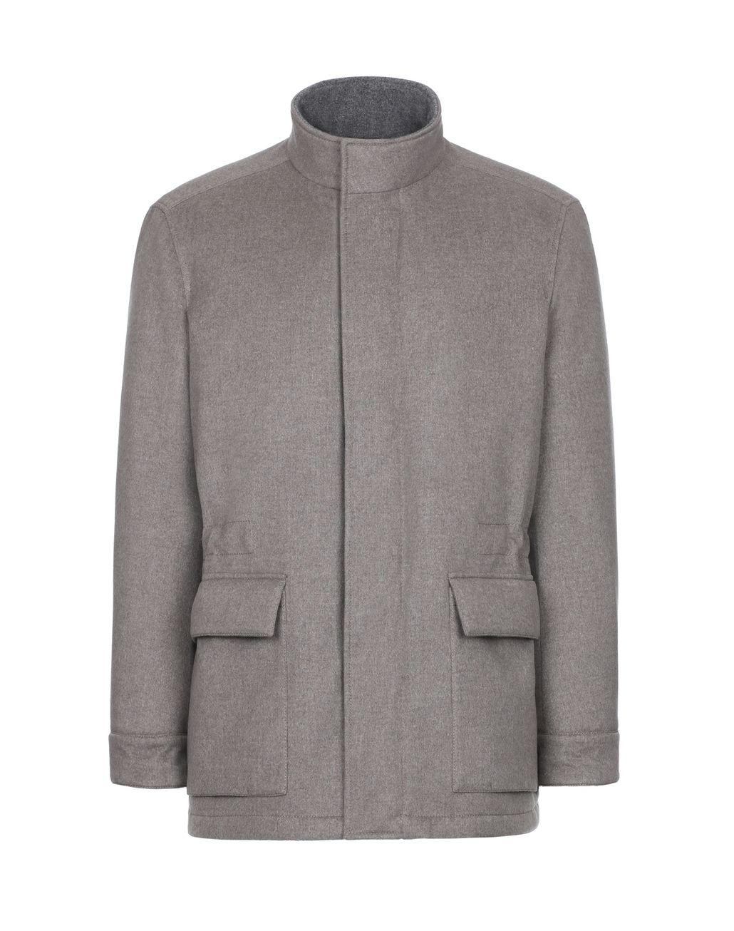 BRIONI Beige Field Jacket Outerwear Man f