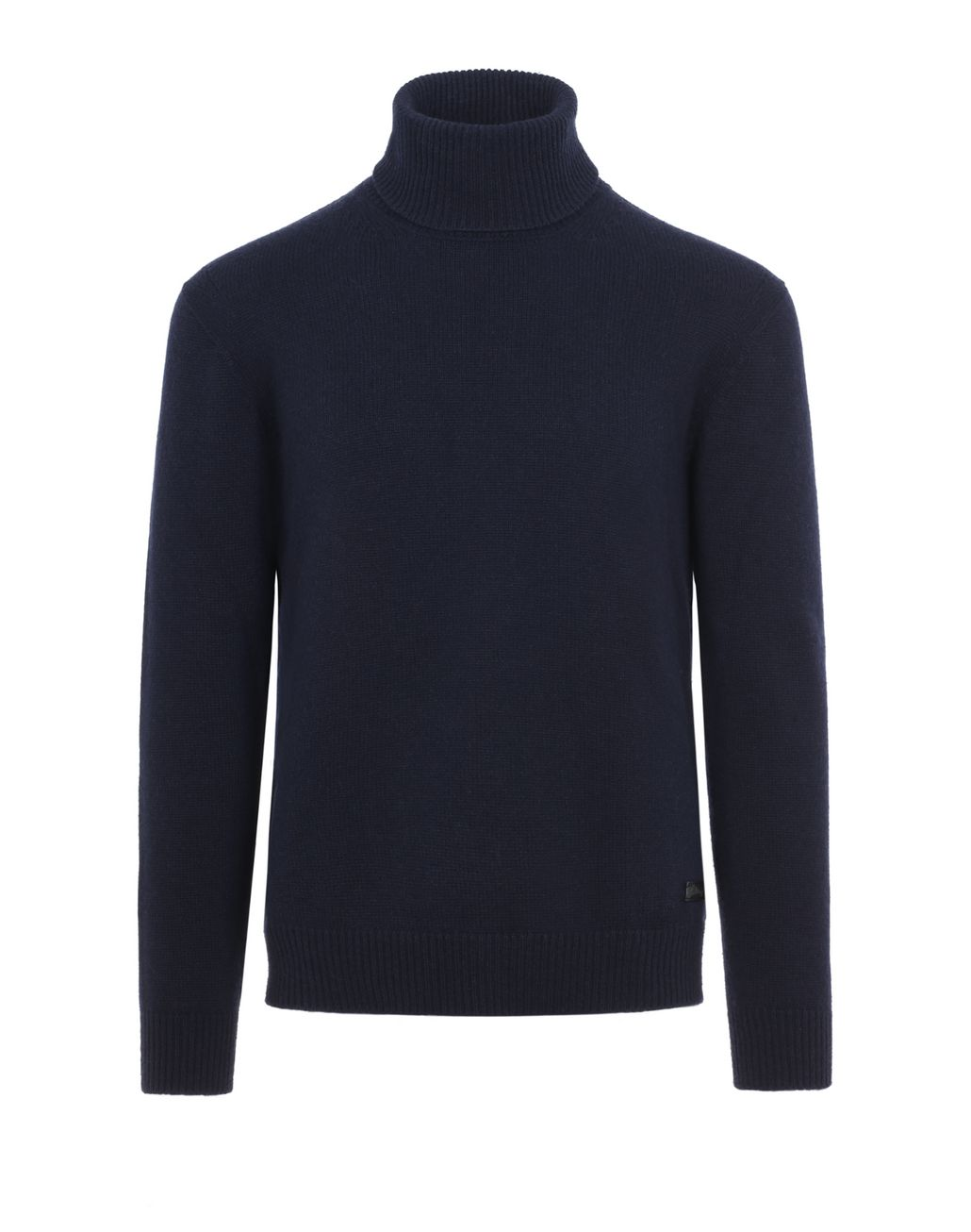 BRIONI Blue Turtleneck Sweater Knitwear Man f