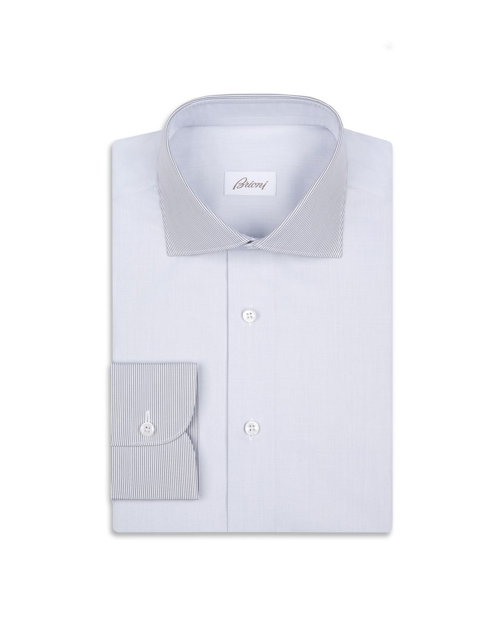 BRIONI Gray Formal Shirt Formal shirt Man f