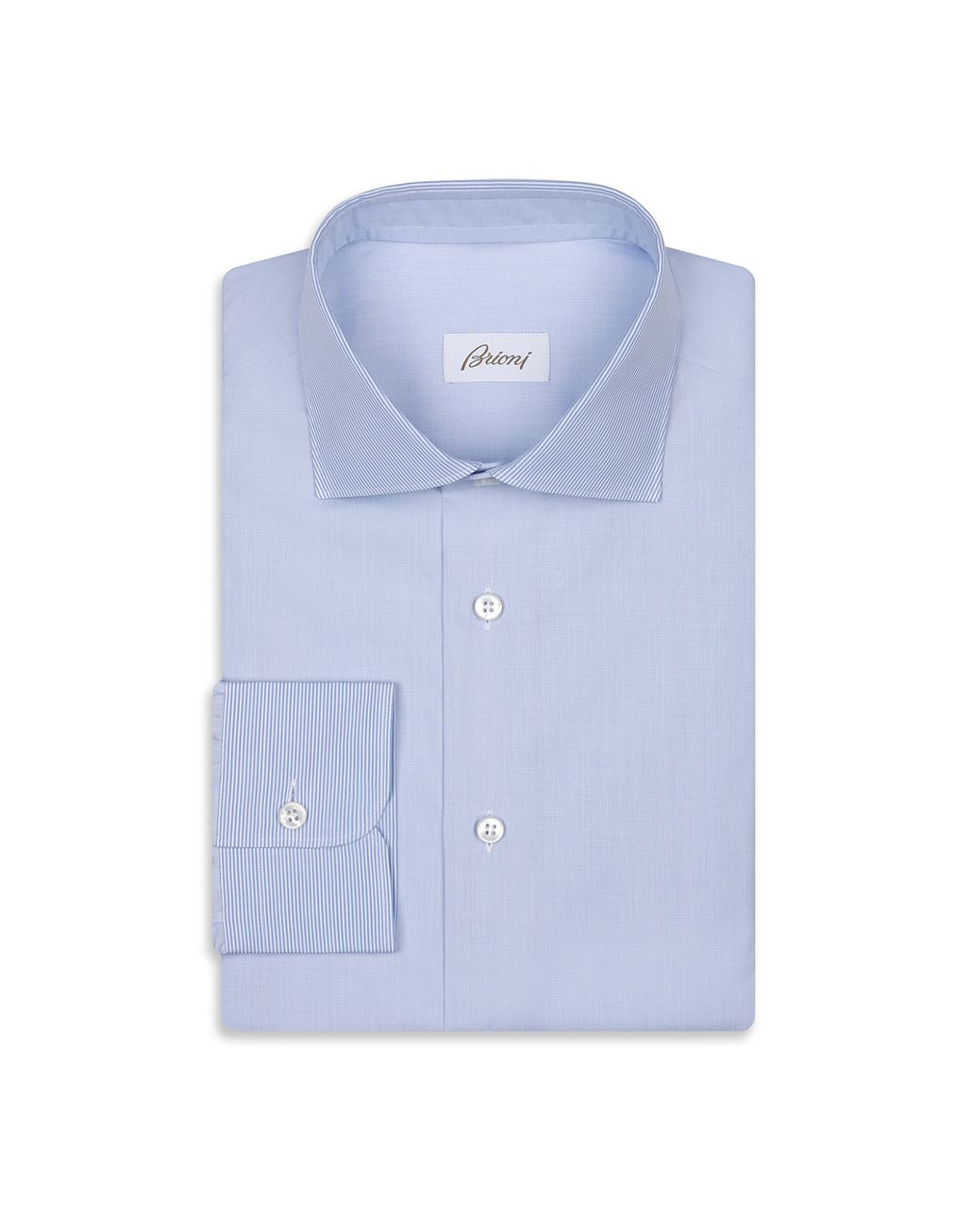 BRIONI Blue Formal Shirt Formal shirt Man f