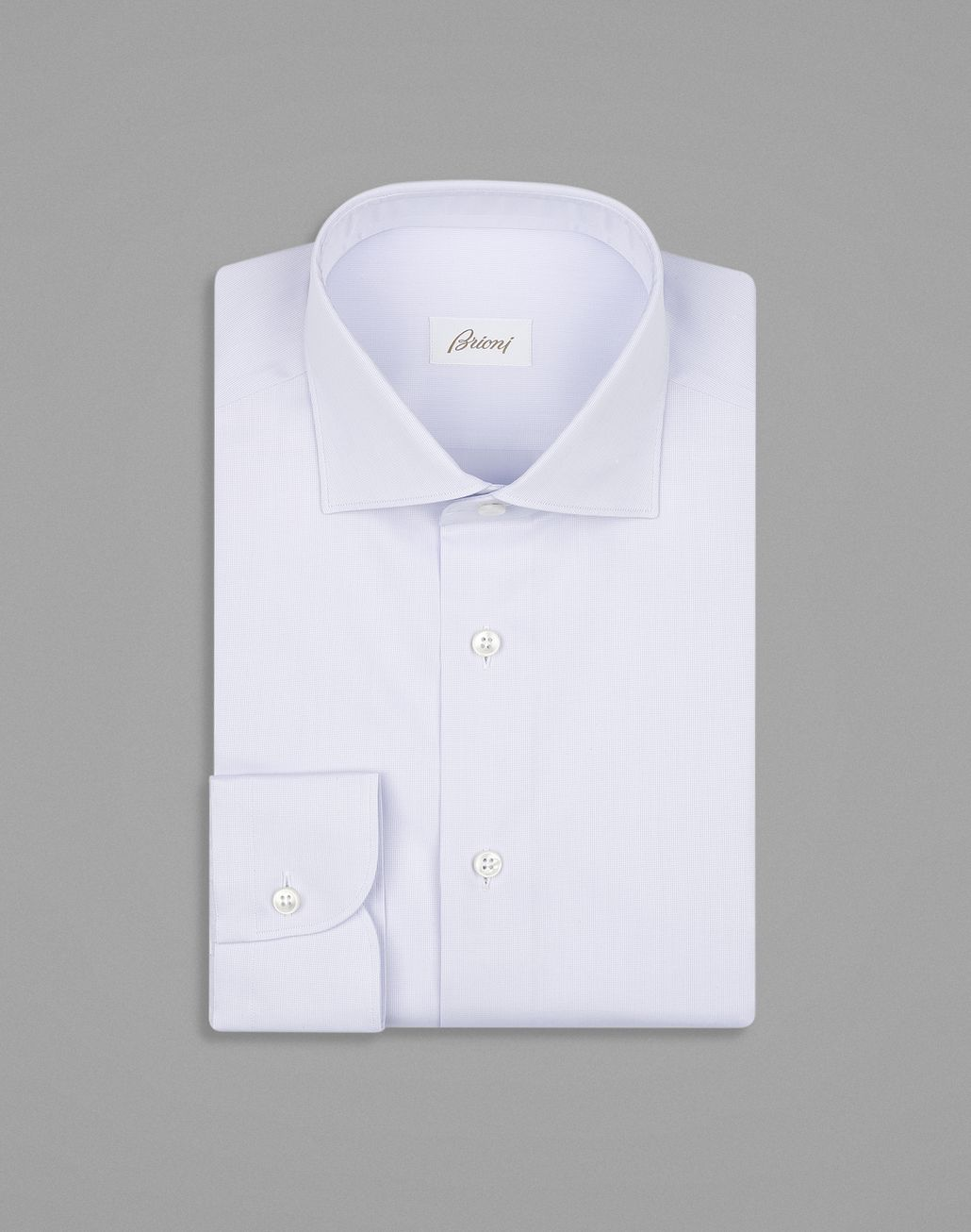 BRIONI Red and Lilac Formal Shirt Formal shirt Man f