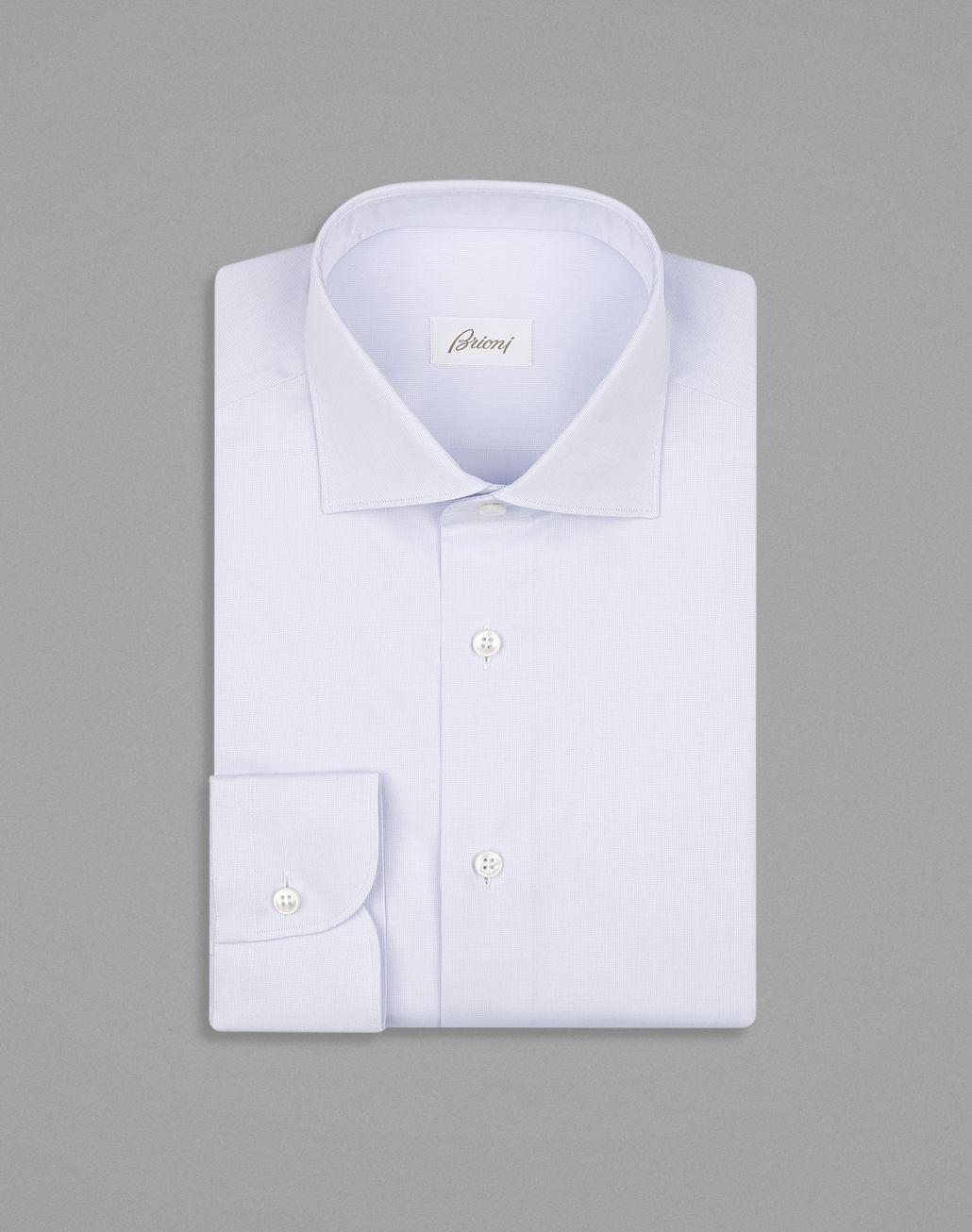 BRIONI Классическая Красно-Лиловая Рубашка Классическая рубашка Для Мужчин f