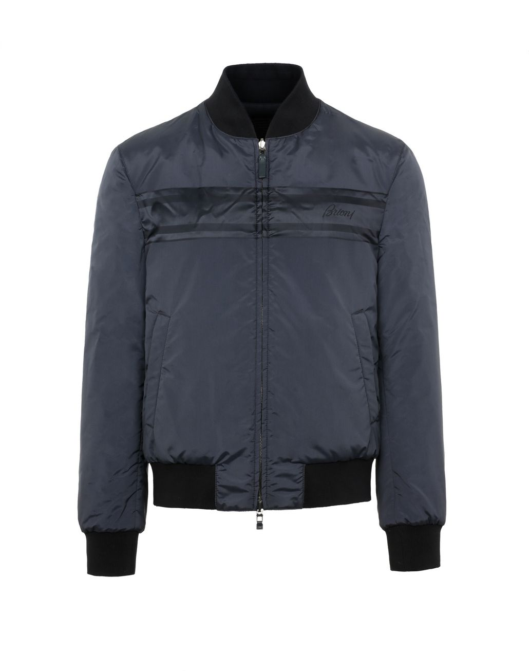 BRIONI Blue Reversible Bomber Suits & Jackets Man f