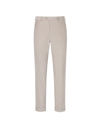 Pantalon Beige Et Marron