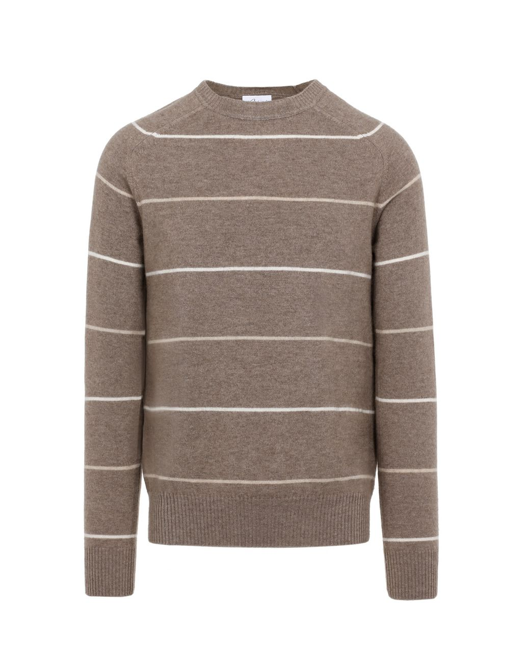 BRIONI Brown Sustainable Sweater Knitwear Man f