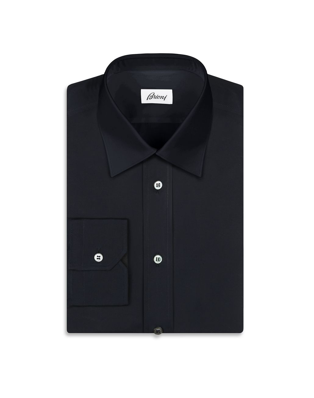 BRIONI Blue Shirt Leisure shirt Man f