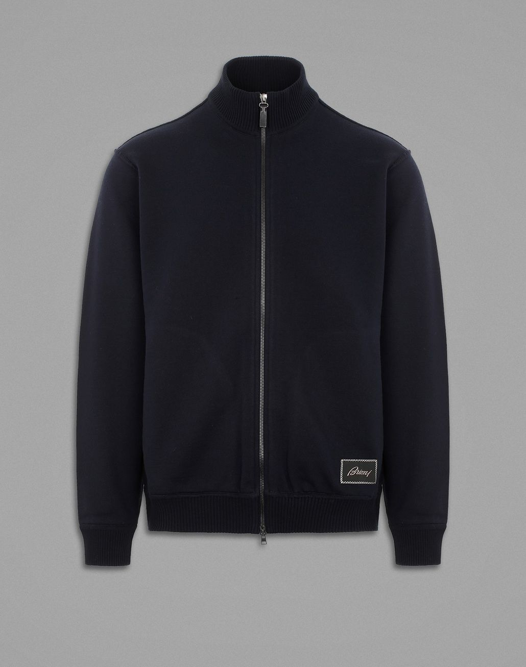 BRIONI Blue Jogging  Sweatshirt Knitwear Man f
