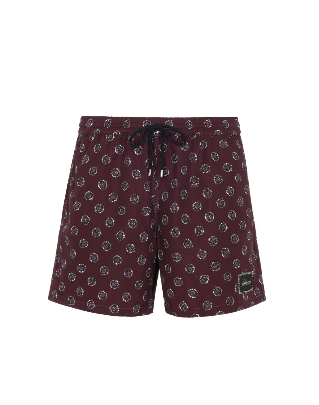 BRIONI Bordeaux Swimming Boxers Beachwear Man f