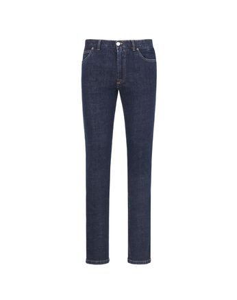 Blue Five Pocket Jeans