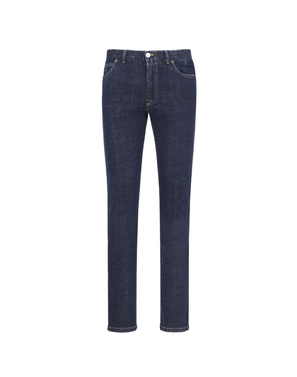 BRIONI  Blue Regular Fit Jeans Denim Man f