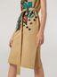 Marni Kleid aus Baumwoll-Leinen-Drillich mit Jungle Liz-Print und Gürtel Damen - 5